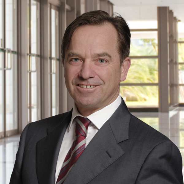 Prof. Gerold Frick Consultant Photo