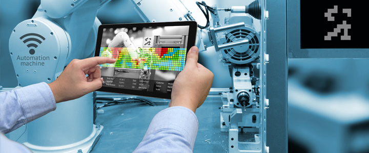 The Future of Manufacturing With AI and Robotic Machines Cover Image